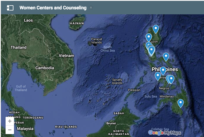 Counseling Centers and Shelters for Women in Crisis, Maternity Homes